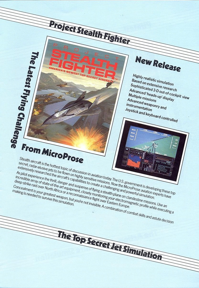 Airborne Ranger microprose catalogue page 4