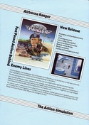 Airborne Ranger microprose catalogue page 6