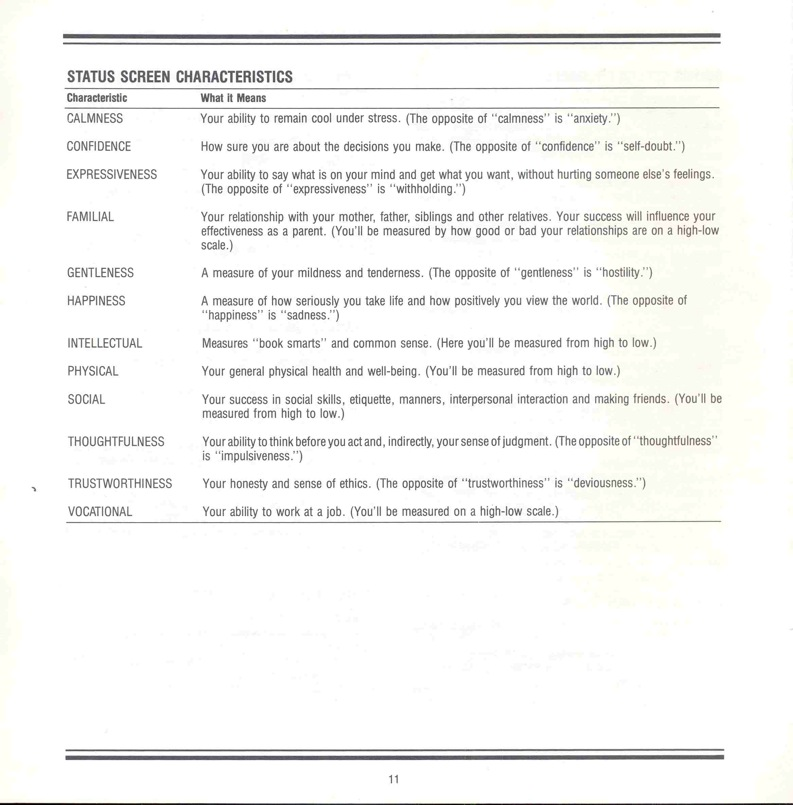 Alter Ego Manual Page 11