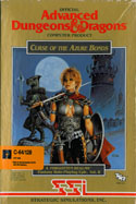 Curse Of The Azure Bonds box front