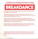BREAKDANCE Cassette Loading Instructions