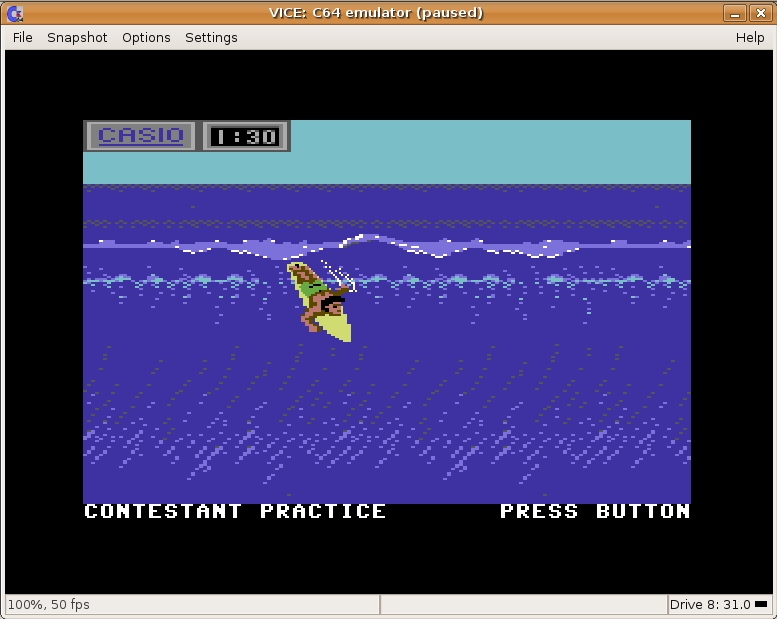 California Games Screen Shot 02