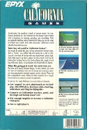 California Games Box Back