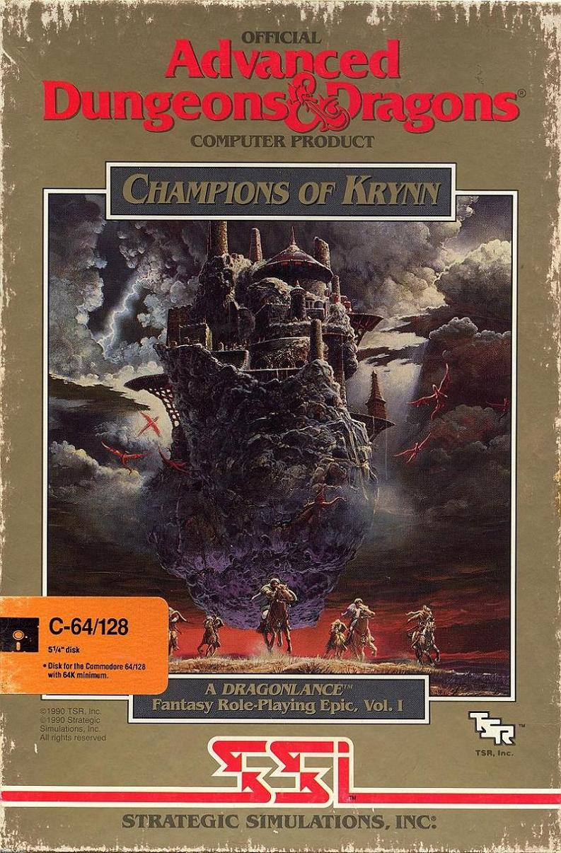 Champions of Krynn box front