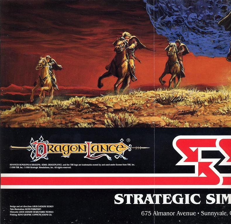 Champions of Krynn poster part 5