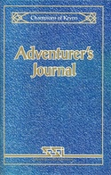 Champions of Krynn Adventurers Journal front cover
