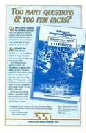 Champions of Krynn rule book back cover