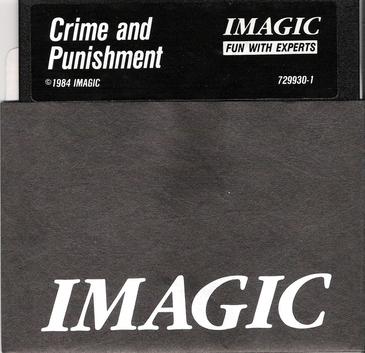 Crime and Punishment disk front