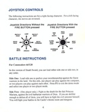 Death Sword manual page 4