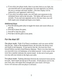 Death Sword manual page 5
