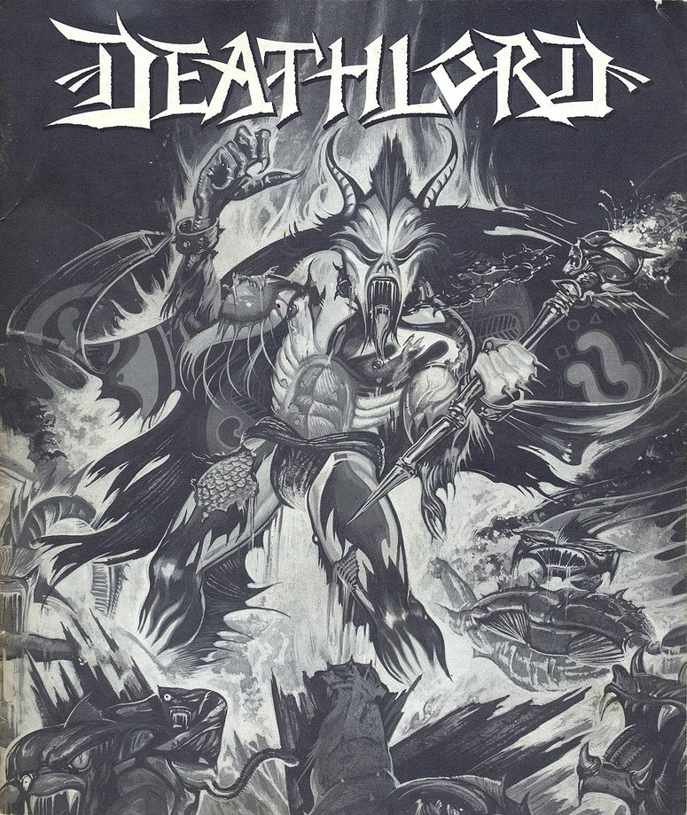 Deathlord manual front cover