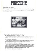 FireZone The Players Guide page 4
