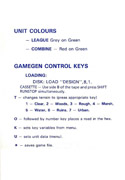 FireZone quick key guide back