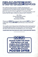 Frankie Goes To Hollywood leaflet page 1