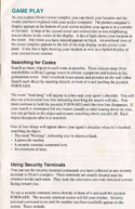 Impossible Mission 2 manual page 6