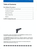 L.A. Crackdown manual page 0