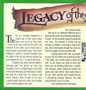 Legacy of the Ancients Package Inner Left