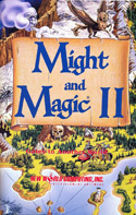 Might and Magic II manual front cover