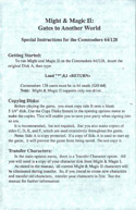 Might and Magic II instructions front