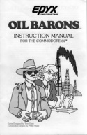 Oil Barons manual front cover