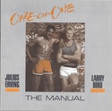 One on One: Julius Erving vs. Larry Bird manual front cover