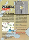 Panzers East! box back