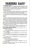Panzers East! manual page 3