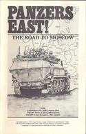 Panzers East! manual front cover