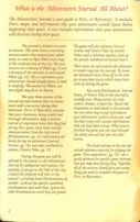 Pool of Radiance Adventurers Journal Page 1