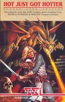 Pool of Radiance SSI 1988 Brochure Front Cover