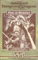 Pool of Radiance Manual Front Cover