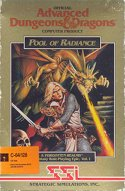 Pool of Radiance Box Front