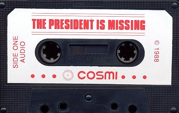 The President is Missing audio tape side 1