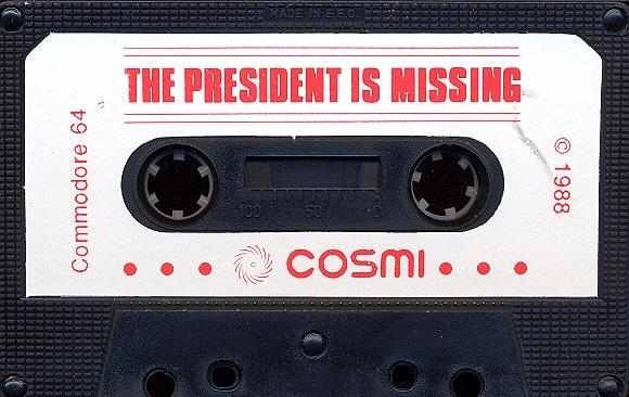 The President is Missing game tape
