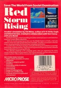 Red Storm Rising box back