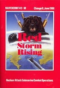 Red Storm Rising manual front cover