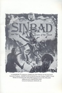 Sinbad and the Throne of the Falcon manual front cover