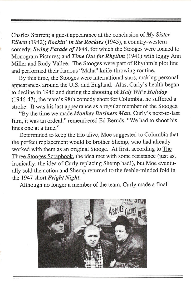 The Three Stooges manual page 8