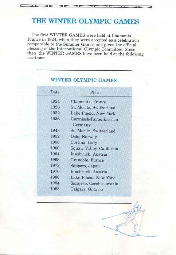 Winter Games Manual Page 13