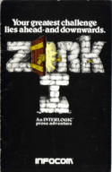 Zork I manual front cover