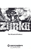Zork II: The Wizard of Frobozz manual page 1